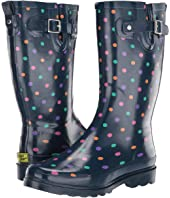 Simple Dot Rain Boot