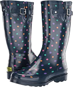 Simple Dot Rain Boot