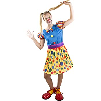 Costumizate! Disfraz de payasa Adulta Especial para Fiestas de ...