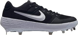 Nike New Mens Alpha Huarache Elite 2 Low Baseball Cleats Black/White Sz 11 M