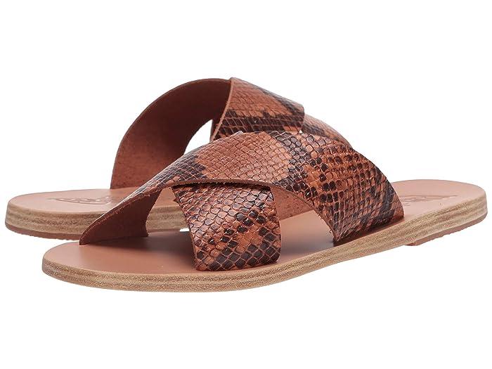 Ancient Greek Sandals  Thais (Python Tampa) Womens Sandals