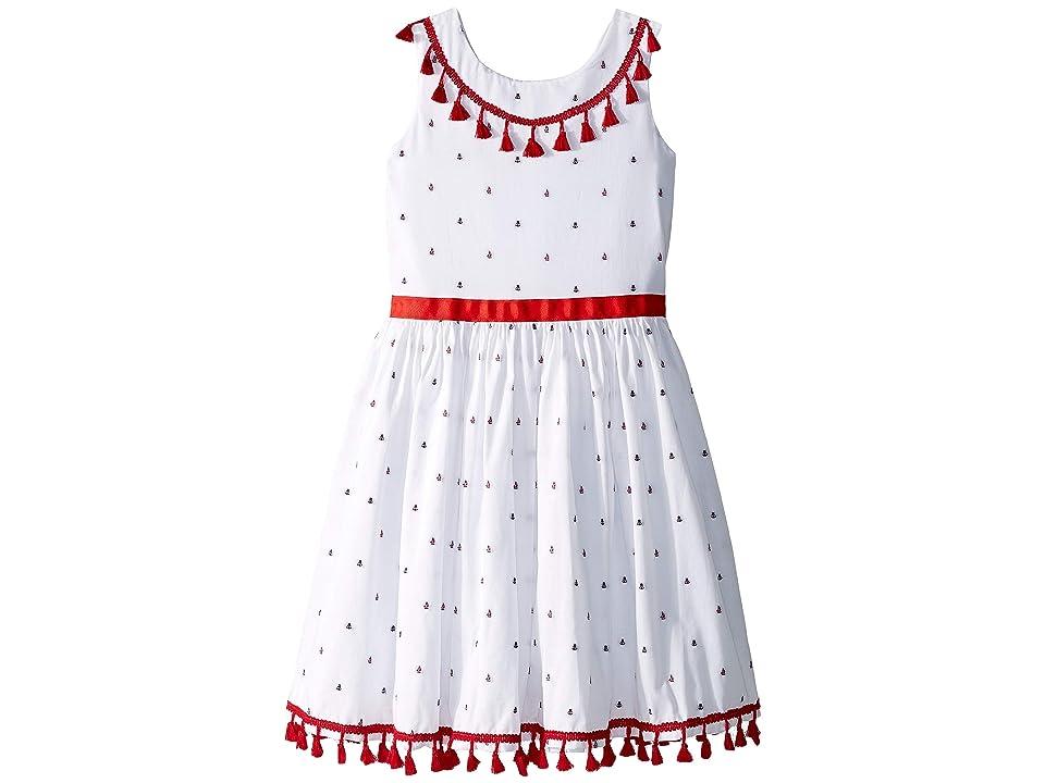 fiveloaves twofish Sail Away Dress (Toddler/Little Kids/Big Kids) (White) Girl