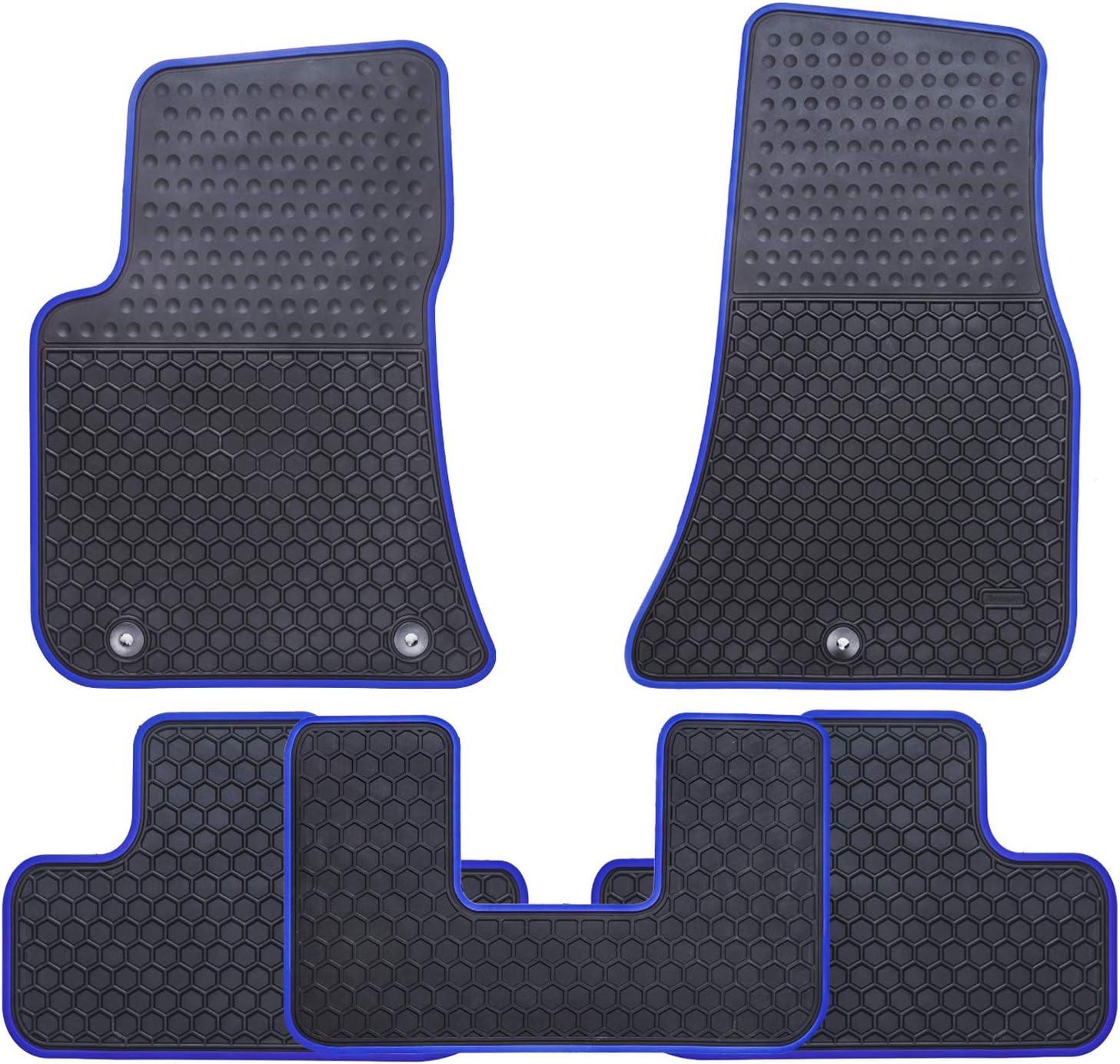 Coverking Custom Fit Front Floor Mats for Select Dodge Challenger Models Black Nylon Carpet