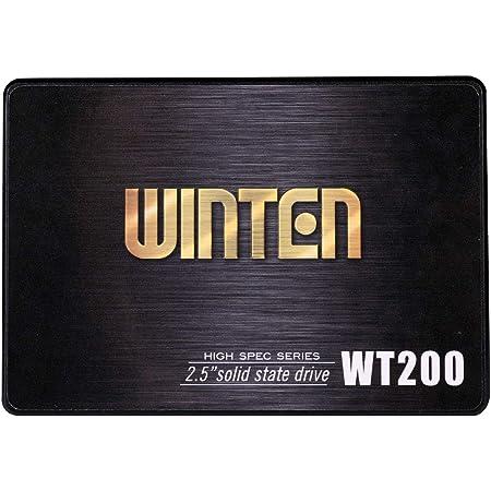 SSD 128GB 5年保証 WT200-SSD-128GB WINTEN 内蔵型SSD SATA3 6Gbps 3D NANDフラッシュ搭載 デスクトップパソコン、ノートパソコン、PS4にも使える2.5インチ エラー訂正機能 省電力 衝撃に強い 2.5inch 5588
