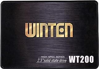 SSD 512GB 5年保証 WT200-SSD-512GB WINTEN 内蔵型SSD SATA3 6Gbps 3D NANDフラッシュ搭載 デスクトップパソコン、ノートパソコン、PS4にも使える2.5インチ エラー訂正機能 省電力 衝撃に強...