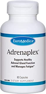 EuroMedica Adrenaplex - 60 Capsules - Adrenal Gland Function Supplement - Supports Healthy Adrenal Gland Function & Balanc...