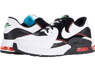 Nike Air Max Excee (White/White/Black/Flash Crimson) Men