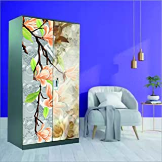 Decor Production Self Adhesive Wallpaper Wall Sticker for Almirah/Wardrobe(almirah-wallpaper-pt3-03)