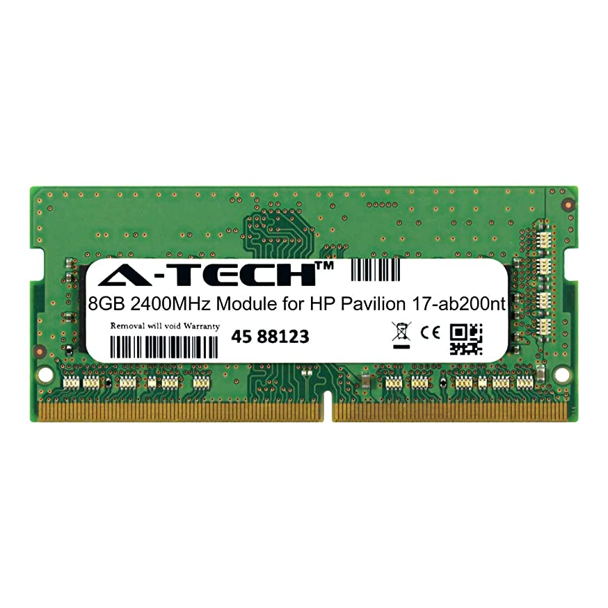 A-Tech 8GB Module for HP Pavilion 17-ab200nt Laptop & Notebook Compatible DDR4 2400Mhz Memory Ram (ATMS310388A25827X1)