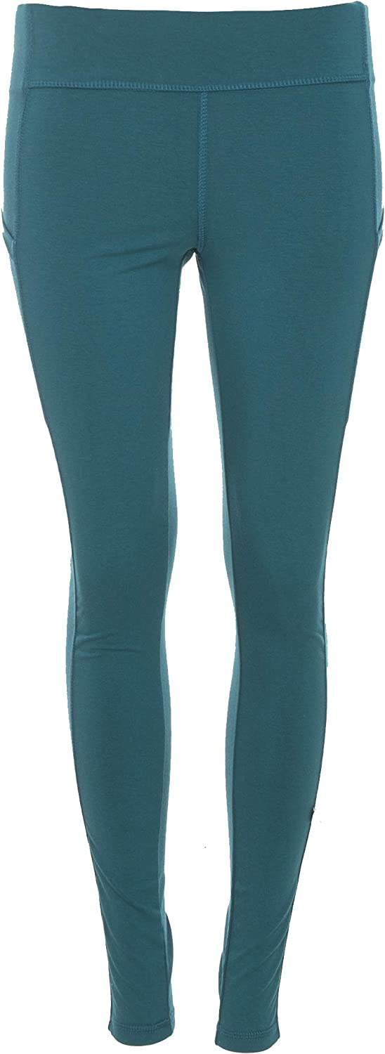 Kic Kee Pants KICKEE Women's Solid Performance Jersey Legging with Pockets