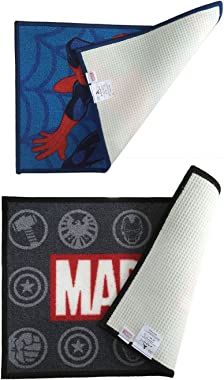 Marvel Athom Trendz Printed Doormat Combo Pack 40x60cm.