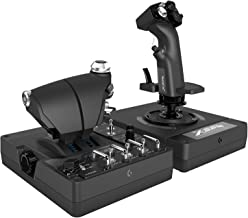Logitech G X56 Black HOTAS. RGB Throttle and Stick Simulation Controller for VR Gaming (Renewed)