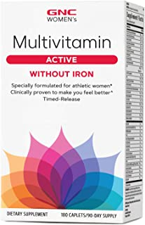 GNC Women's Active Multivitamin Without Iron