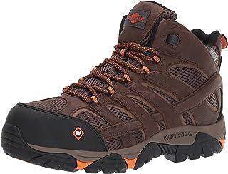 حذاء رجالي من Merrell Work Moab Vertex متوسط مضاد للماء مركب