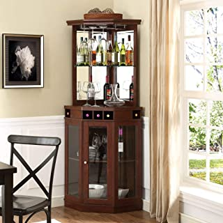 Best mahogany wine cabinet Reviews