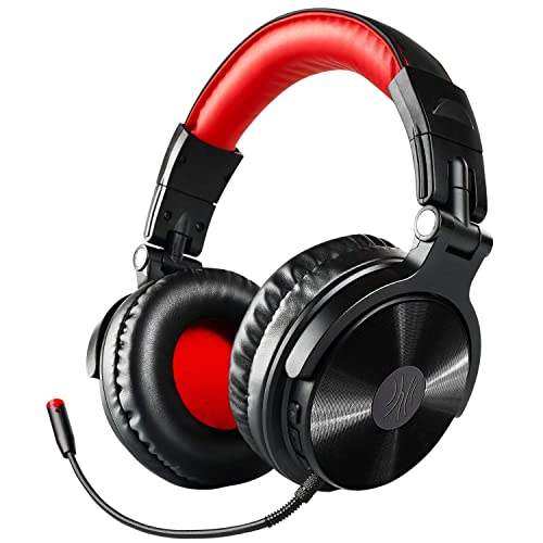 080786b86cf Bluetooth Headphones with Mic, Wireless Hi-Fi Headset with Extended  Pluggable Microphone, Gaming