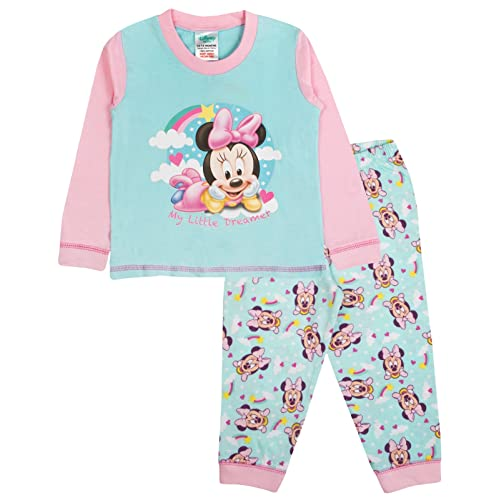 21c89fee4f547 Disney Minnie Mouse Bow Baby Girls Pyjamas