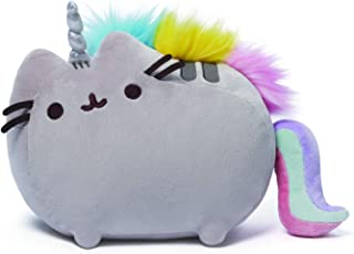 GUND Pusheenicorn Plush Stuffed Animal Rainbow Cat Unicorn, 13
