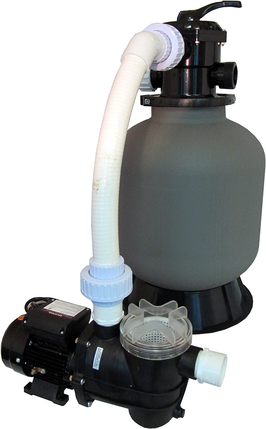 Above-Ground Swimming shopping Pool Colorado Springs Mall Sand Filter Pump with 0.35 System HP