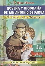 Novena y Biografia de San Antonio de Padua