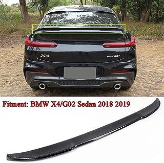 HJHNB Rear Spoiler Posteriore per Auto ABS per Ford Focus 2019 2020 Cofano Posteriore del Tetto della Finestra del Cofano del Bagagliaio del Bagagliaio sul Tetto,BrightBlack