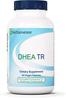 Nutra BioGenesis - DHEA TR - DHEA for Endocrine Balance, Anti-Aging, and Heart Health - 10 mg, 120 Capsules