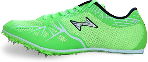 HEALTH Middle Long Dist Green Track Field Shoes 166 2