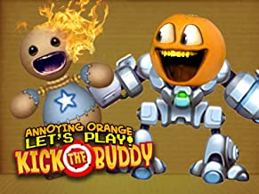Clip: Annoying Orange plays Kick the Buddy