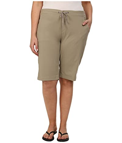 Columbia Plus Size Anytime Outdoortm Long Short (Tusk) Women