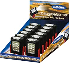Motolite MT30205-12 23LED Mini Worklight with Tourch in POS Display 12pc