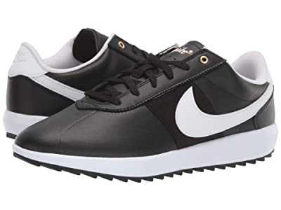 Nike Golf Cortez G (Black/White/Metallic Gold) Women