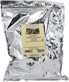 Starwest Botanicals Organic Raspberry Leaf Tea [1 Pound Bag] Loose Cut & Sifted Raspberry Leaves in Bulk