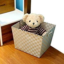 MAHFEI Storage Basket Box, Japanese Style Storage Basket For Clothes Hand Weaving Elegant And Simple Iron Frame Structure ...