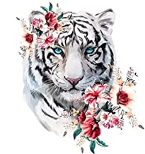 Diamond painting 5d Tiger Full Square round Diamond Painting Animal Home Decoration DIY Diamond Embroidery LKYCUICAN (Colo...