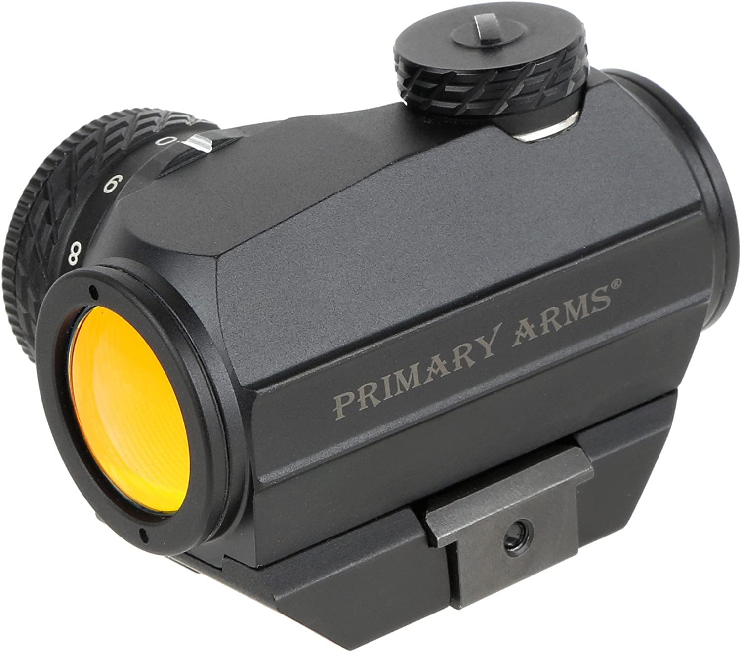 Primary Arms Advanced Micro Red Dot Sight (MDRBAD)  2 MOA Dot, redary Knob, Removable Picatinny Mount