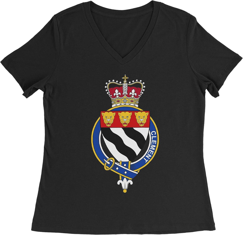 HARD EDGE DESIGN Women's English Garter Family Clement T-Shirt