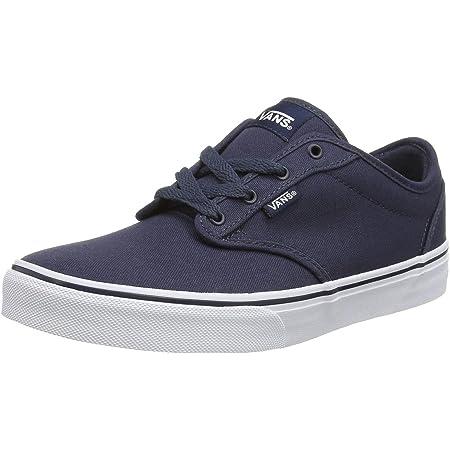 Vans Unisex Kids' Atwood Low-Top Sneakers, Blue ((Canvas), 4 UK (36.5 EU)
