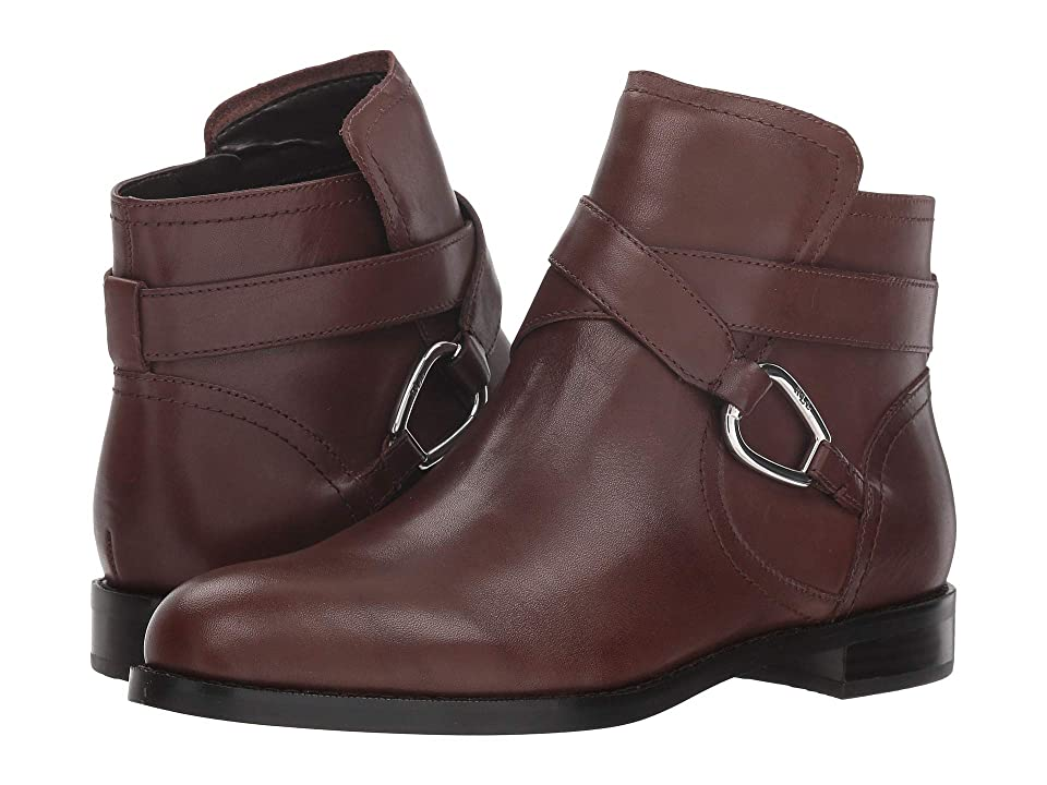 LAUREN Ralph Lauren Hermione (Dark Brown Burnished Vachetta) Women