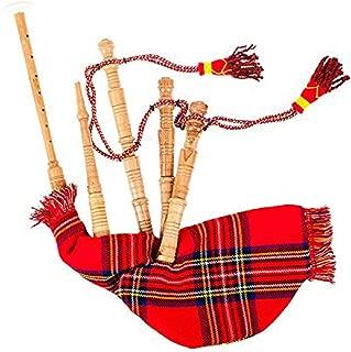 New Scottish Junior Playable Royal Stewart Tartan Bagpipes Toy