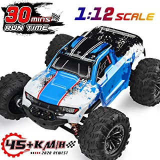 INGQU RC Car 1:12 Remote Control Car High Speed RC Truck Remote Control Truck Off Road Monster RTR All Terrain Toys for Kids and Adults