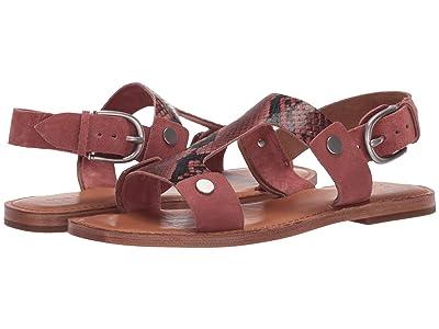Frye Felix Sling Sandal (Antique Rose Multi) Women