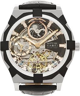 [ゾンネ] 腕時計 メンズ SONNE H019SS-BK ブラック シルバー [並行輸入品]