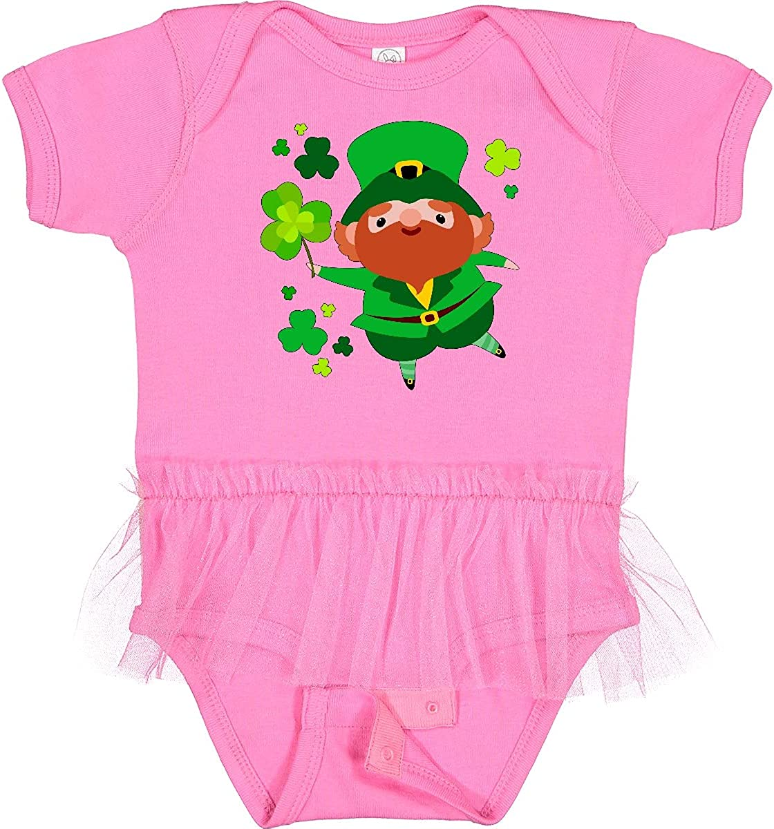 inktastic Cute Leprechaun for St. Infant Animer and price revision Day Don't miss the campaign Tutu Body Patrick's