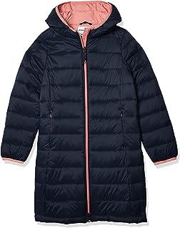 Amazon Essentials Puffer Largo Ligero con Capucha para Niña Outerwear-Jackets Niñas