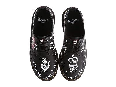 Dr. Martens 1461 Rebel (Black/Multi) Shoes