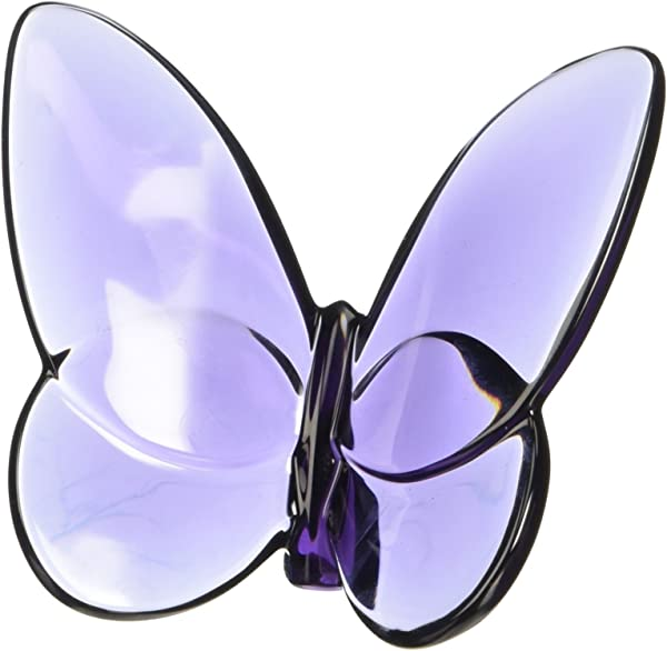 Baccarat Lucky Butterfly Purple