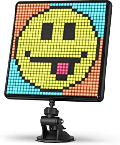 Divoom Pixoo-Max Pixel Display, APP Cellphone Control Display with 32 X 32 Programmable LED Screen for Home Decoration, Business Advertisement