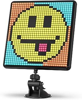 Divoom Pixoo-Max uniwersalna cyfrowa ramka na zdjęcia, 32 x 32 programowalne piksele, wyświetlacz LED do pokoju, dekoracja...