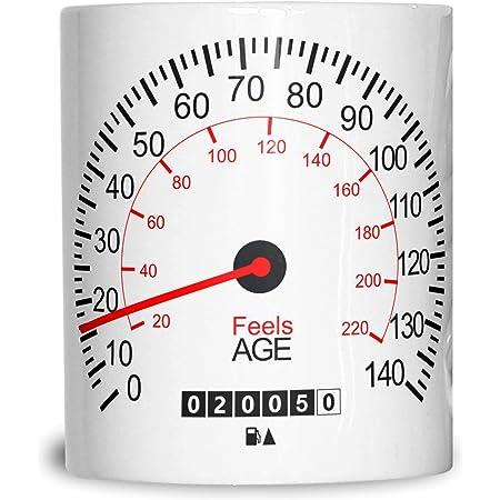 60th Birthday Mug Car Speedometer Gift Speedo Motor Racing Sport