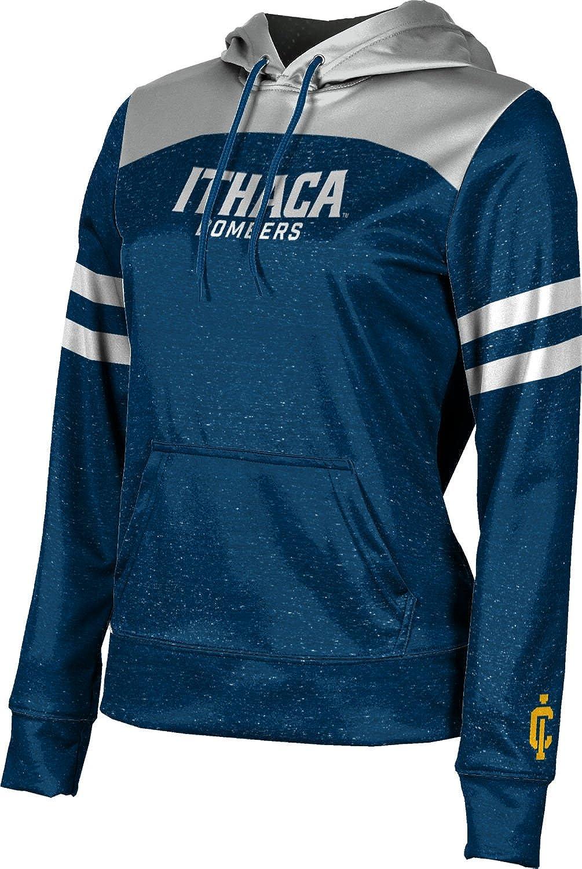 Ithaca College Girls' Pullover Hoodie, School Spirit Sweatshirt (Game Time)